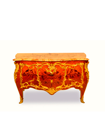 Majestuosa Comoda Francesa Louis XV