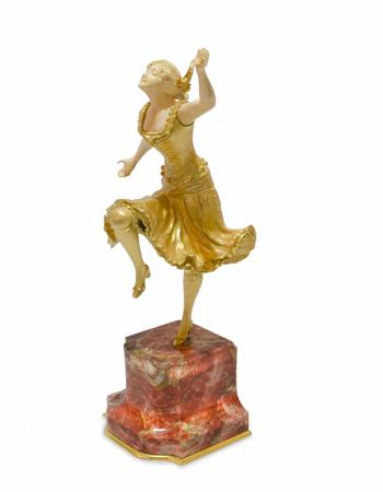-Bailarina española- de Henri Fugere