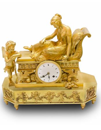 Reloj Frances de estilo Imperio