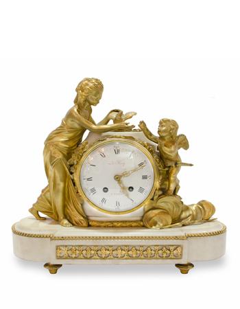 Reloj estilo luis xvi