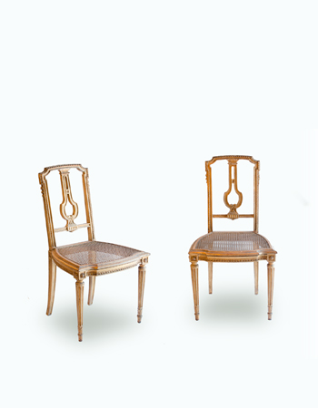 Par de sillas francesas