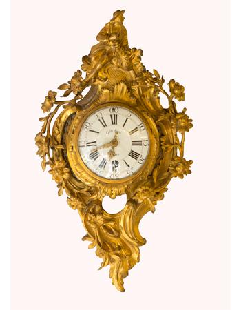 Reloj Cartel Frances del siglo XIX